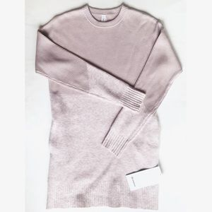 Lululemon Restful Intention Pink Sweater XS NWT